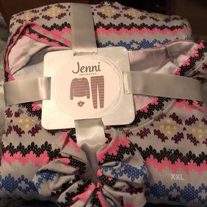 NWT sz XXL multi fairisle pajamas by JENNI